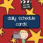 Use these fun schedule cards to help students keep track of your day! When purchasing the bundle you receive all 5 styles at a discounted price - g...