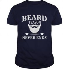 Beard Season Never Ends Great Gift For Any Bearded Man - #pullover #t shirt design website. I WANT THIS => https://www.sunfrog.com/LifeStyle/Beard-Season-Never-Ends-Great-Gift-For-Any-Bearded-Man-Navy-Blue-Guys.html?60505