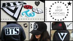 DIY Kpop Patches {GOT7, EXO, BTS, Twice & Seventeen} | heyimvicky