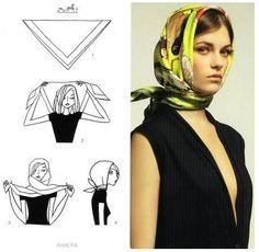 Pañuelo estilo Audrey
