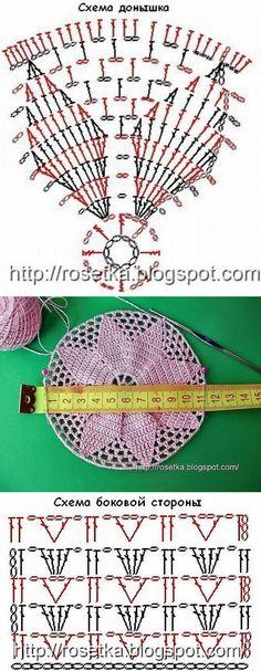 "(15) Compañeros de clase // Тая😍😻ღ•°˜""*°•.♥.• Туман✔ Free Crochet Doily Patterns, Crochet Diagram, Crochet Motif, Crochet Designs, Crochet Doilies, Crochet Lace, Crochet Summer Hats, Crochet Round, Crochet Granny"