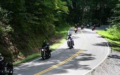 Out on the road! Tail of the Dragon in NC