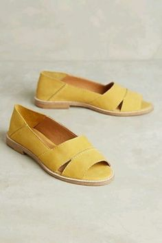 NEW Anthropologie Kelsi Dagger Brooklyn Yellow Samantha Flat Sandals Size  7 in Clothing, Shoes & Accessories, Women's Shoes, Sandals & Flip Flops | eBay