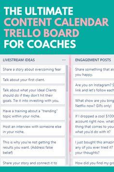Life Coaching Tools, Online Coaching, Coach Instagram, Facebook Instagram, Social Media Calendar, Marketing Calendar, Social Media Marketing Business, Business Coaching, Social Media Content