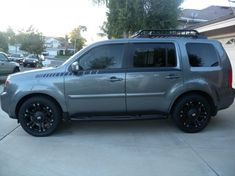 custom Honda Pilot roof racks - Google Search