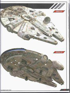 Millennium Falcon.                                                                                                                                                                                 More