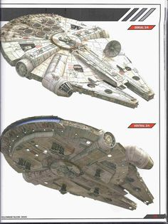 Millennium Falcon.