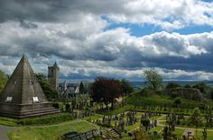 Stirling Cemetery 3 by floradeli on DeviantArt The Church of The Holy Rude (Rude means Cross), Stirling [Church of Scotland] and the Star Pyramid  Outside the church is the Valley Cemetery. In past times was the site of jousting tournaments and markets. The Cemetery has a Pyramid, built by William Drummond in 1863.
