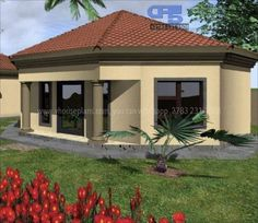 Round House Plans, My House Plans, Thatched House, Cottage Plan, Paint Colours, Building Plans, African Dress, Short Hair, Natural Hair