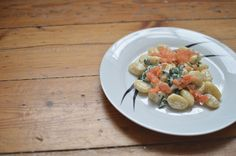 Gnocchi Royale - Smoked Salmon Gnocchi with Cream Cheese