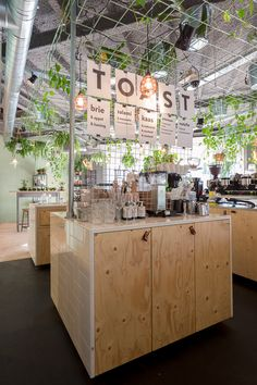 Coffeelab uc eindhoven (designed by studio lime) cafe-coffee Cafe Restaurant, Restaurant Design, Cafe Design, Store Design, Coffee Places, Counter Design, Cafe Shop, Co Working, Eindhoven