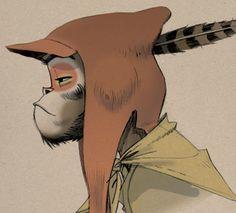 Monkey by Jamie Hewlett