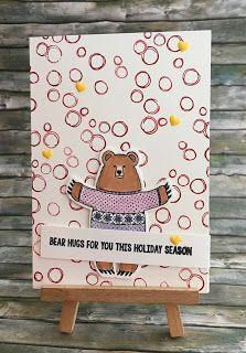 Noch eine Weihnachtskarte  Und hier noch eine Weihnachtskarte der etwas anderen Art: ich mochte schon immer die Bären im Hauptkatalog und im Weihnachtskatalog haben sie dies Jahr einen in einem albernen Weihnachtspullover den ich natürlich kaufen MUSSTE! Deshalb müsst ihr Euch jetzt diese Karte ansehen:   Und die Materialliste könnt ihr Euch auch gleich ansehen:   Weihnachten Weihnachtsmann