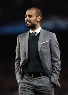 Josep Guardiola. Yep, he's a football coach :)