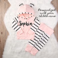 Adorable Personalized Bunny Ear Sets!! 25% OFF with PINIT25. Limited Available.