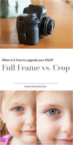 Eager to upgrade your DSLR? Curious about the difference between a crop sensor and a full frame camera body? Do you even need a full frame? Great review of both kinds with side by side examples!