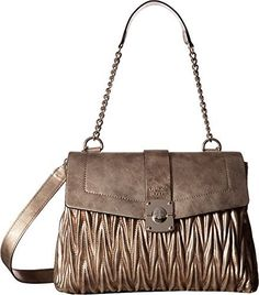 New Trending Shoulder Bags: GUESS Womens Keegan Shoulder Bag Bronze Handbag. GUESS Women's Keegan Shoulder Bag Bronze Handbag   Special Offer: $54.99      399 Reviews Throw this Keegan Shoulder Bag over your shoulder like a continental soldier. Faux-leather construction boasts contrasting panels and stitch accents. Magnetic button-snap closure and side...