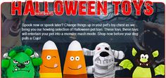 Pet Halloween Toys On Sale!