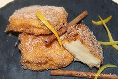 leche frita, dulces tradicionales, Julia y sus recetas