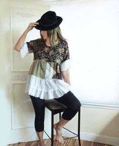 Your place to buy and sell all things handmade Hot Topic Clothes, Diy Clothes, Clothes For Women, Shirt Refashion, T Shirt Diy, Teenage Girl Outfits, Outfits For Teens, Scene Outfits, Recycled Sweaters