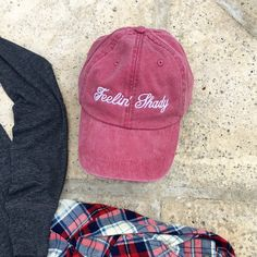 feelin' shady hat