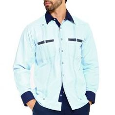 Check out the deal on Chacabana moderna tropical at Guayabera shirts experts. Mens Urban Fashion Trends, Cheap Mens Fashion, Mens Dressing Styles Casual, Mens Party Wear, Cruise Attire, Guayabera Shirt, Designer Clothes For Men, Designer Clothing, Tropical