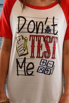 Don't Test Me Tee – The ZigZag Stripe