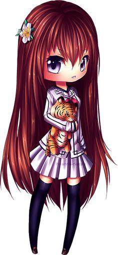Chiye page doll [new chibi style] by Hyanna-Natsu on DeviantArt Anime Chibi, Kawaii Chibi, Cute Chibi, Anime Kawaii, Kawaii Cute, Manga Anime, Kawaii Drawings, Cute Drawings, Illustration Art Dessin