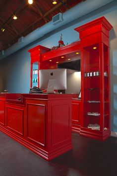 Wax LA Custom Reception Area