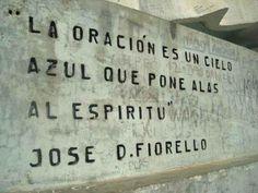Frase al pie de la Señora de Belén, Catamarca, Argentina