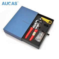 59.99$  Watch here - http://alikh3.worldwells.pw/go.php?t=32573774438 - 2016 New Arrival Network Ccrimping Tool Crimper Pliers RJ45  High-end Ethernet Network Cable Tool Cat5e Cat6 Tool From AUCAS
