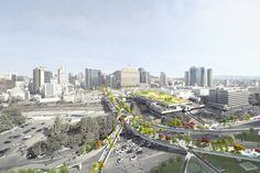 Un jardin suspendu au cœur de Séoul pour transformer une autoroute abandonnée