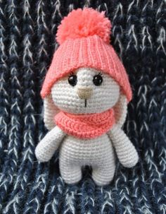 Adorable bunny amigurumi pattern