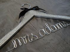 personalized hangers :-)