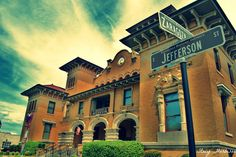 Downtown Pensacola.  This was recently named as being one of the most important historic buildings in Pensacola.