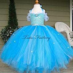 Frozen Elsa Custom Couture Sequin Tutu Dress | TuTu Heaven
