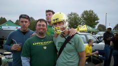 Team #EOpdx representing at the Oregon Ducks game