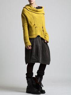 Fantasy Wool Sweater by LURDES BERGADA: