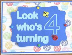 Fourth Birthday #79 by craftykarla - Cards and Paper Crafts at Splitcoaststampers