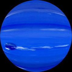 Increased brightness of clouds in Neptune's southern hemisphere is a sign of changing seasons on Neptune. Description from davidreneke.com. I searched for this on bing.com/images