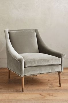 Velvet Tillie Armchair - anthropologie.com