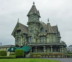 Steam-powered inspiration - melodysmuse: Victorian Mansions of Eureka, CA : The Carson Mansion is one of the most written about and photographed Victorian houses in California, and perhaps, in the United States. ~ A pity about the canopy… #gothic #steampunk