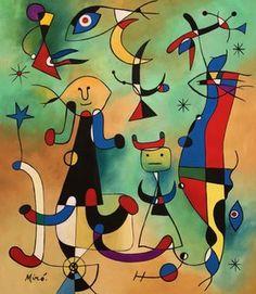 Joan Miro (Gouache o