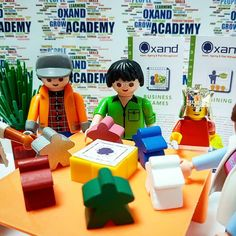 It is so much #fun to minisize your business each day! And it definitely gives another and useful perspective on what you are doing and why! . . . . .  #OxandAcademy #gamebasedlearning #playful #learning #businessgame #businessgames #toystagram #playmobil #lego #meeples #whatdoyouwanttoimprove #whatdoyouwanttolearn
