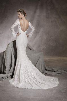 2bce30a350c7 Amor Fantastiska Brudklänningar, Bröllopsdesserter, Klänning Fest, Open  Backs, Spets, Förlovning,