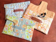 ipad cover tutorial from Sara Gibbons from Sew Little to Say