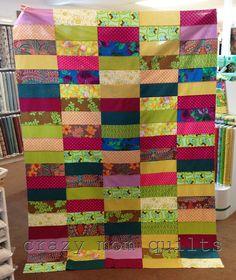 crazy mom quilts: bohemian garden quilt top