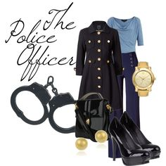 """Career Fashion- The Police Officer"" by skybluchik89 on Polyvore"