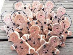 Trendige Lebkuchenmänner Salz Teig von cookiedoughcreations auf Etsy