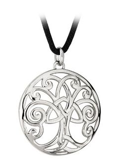 Celtic Tree of Life necklace.  (If I ever get a tattoo - this would be the design...)